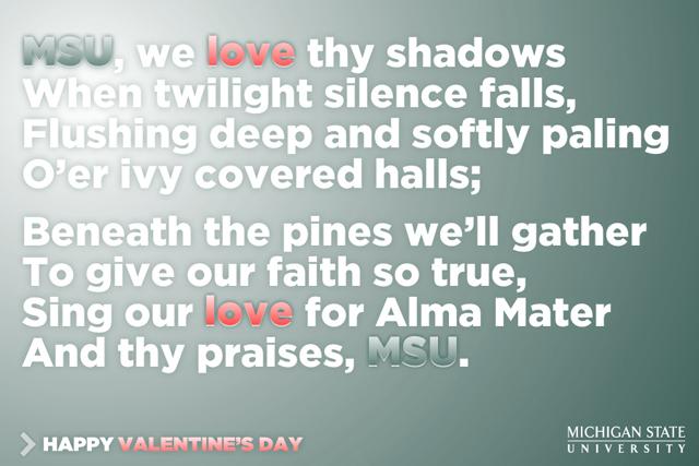 MSU 2012 Valentine: MSU Shadows