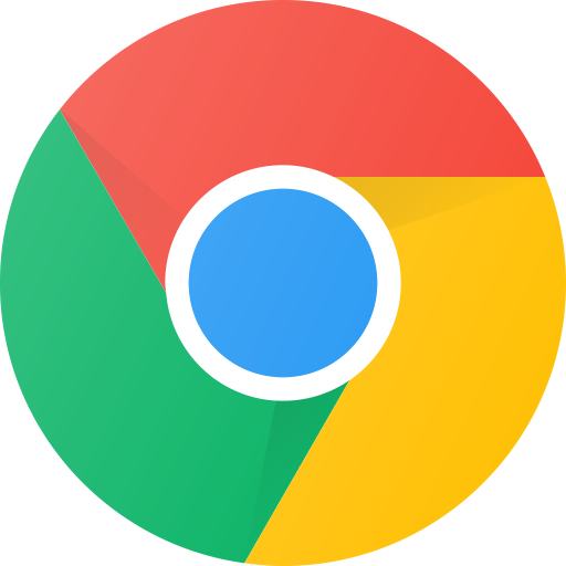 Icon for the Google Chrome web browser.