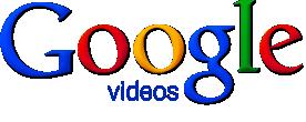 "Logo for ""Google videos."""