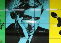 Photo of Glenn Gould Mural in Brussels, Belgium. Image Credit: Kim Eriksson, via Flickr/CC.