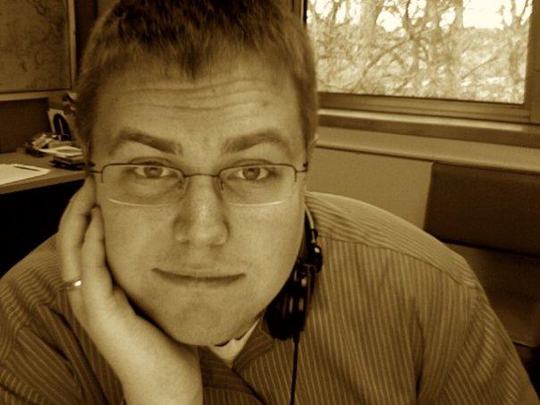 Portrait of Michael VanPutten.